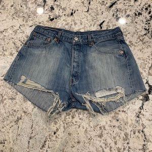 Urban Renewal Levi's denim shorts